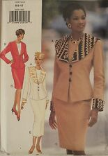 Easy94 BUTTERICK 3630 MS Jacket Top & Skirts PATTERN 6-8-10/12-14-16/18-20-22 UC
