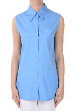 PRADA New Woman Popeline Cotton shirt blouse Made in Italy NWT