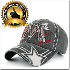 New Baseball Hat Cap Adjustable Cotton M Letter Embroidery Ships From USA