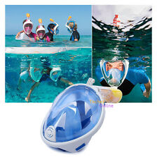 Anti-Fog Full Face Mask Surface Swimming Diving Snorkel Scuba for GoPro Camera
