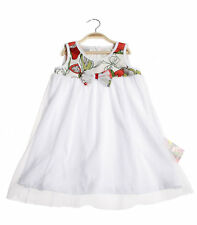 TRINITTI Girl Summer Dress Wedding Christening Special occasion white
