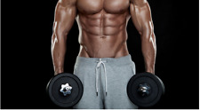 Everfit Adjustable Dumbbells Set Home GYM Fitness Strength Hand Weights Exercise