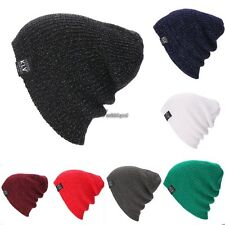 New Beanie Hat Unisex Women Men Fashion Stretch Long Knit Hat WT8803