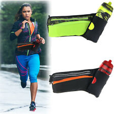 EEEKit Water Bottle Holder Belt Waist Bag+Neck Strap for Running Jogging Cycling