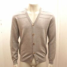 New Maison Martin Margiela Grey Wool Knit Cardigan Jumper BNWT RRP £280