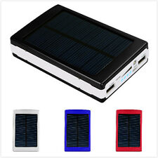 12000mAh Dual USB Portable Solar Battery Charger Power Bank for Cell Phone/iPod