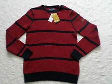 NAUTICA SWEATER MENS CREWNECK SIZE M,XL,XXL LONG SLEEVES NEW WITH TAGS