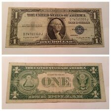 VINTAGE 1935-G RARE WITH MOTTO $1 SILVER CERTIFICATE WASHINGTON ONE DOLLAR VNC