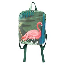 New Fashion Women Canvas Backpack Girls' Dye Printing Cartoon School Bag Purse