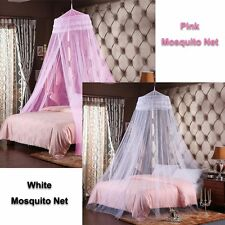 New Bedroom King Size Fly Insect Mosquito Net Bed Canopy Netting Curtain Gorgeou
