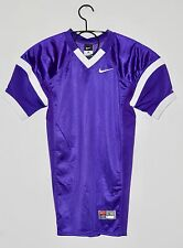 NWT Nike YOUTH Stock Open Field Purple Mesh Practice Football Jersey sz Large