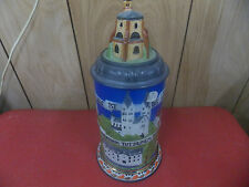 mettlach beer stein villeroy &boch made in west germany lidded stein