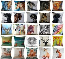 WILD PAINTED HORSE DESIGNS! Linen Cushion Cover Great Any Occassion Gift!