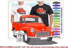 MORRIS MINOR  56-71 UTE CLASSIC ILLUSTRATED T-SHIRT MUSCLE RETRO CAR