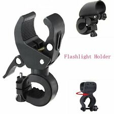 Bike Bicycle Cycling LED Torch Flashlight Mount Clamp Clip Bracket Holder New