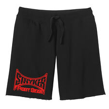 MMA Stryker Fight Gear Fleece UFC Gym Training Sweatshorts w FREE Tapout Decal