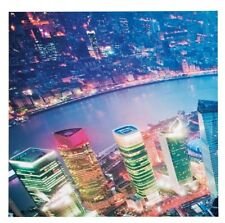 Kare 120 x 120 cm Shanghai Picture, Set of 4. Shipping is Free