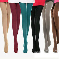 8 Colors Women's Spring Autumn Footed  Opaque Stockings Pantyhose Tights