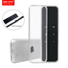 Sikai 2017 Clear TPU Case Cover for Apple TV 32/64 GB 4 Generation Siri Remote