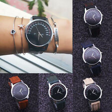 Womens Ladies Car Meter Dial Dress Watch Leather Band Analog Quartz Wristwatches