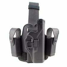 Tactical  Right drop Leg Holster Thigh Pistol Gun Holster for Glock 17 19 22 23