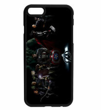 Marvel DC Avengers Characters Rubber Bumper Phone Case for iPhone & Samsung's D4