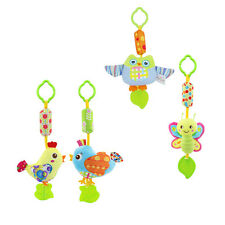 1 PC Children's Toys Cartoon Animals Gums Wind Bell Baby Plush Toys