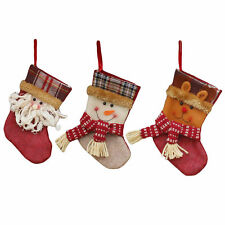 Christmas Socks Xmas Gift Candy Bag Packing Decorations Tree Ornaments Stockings