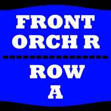 2 TIX JOE ROGAN 8/5 ORCH R ROW A SAN DIEGO CIVIC THEATRE