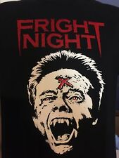 Fright Night Classic T-shirt 80s Movie Horror Comedy Vampires Cult FREE SHIPPING