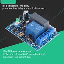 AC220V 230V Adjustable Timer Delay Turn On/Off Switch Time Relay Module Hot im