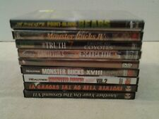 Lot of 9 HUNTING DVD's 5 Factory sealed 4 Like new MINT you pick Free Shipping