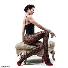 Womens One Size Hypnotic Tale Black Pantyhose Thigh High Fishnet Tights Stocking