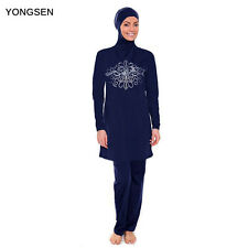 Muslim Islamic Modest Arabic Swimwear Swimsuit Burkini Full Cover Swim Costumes