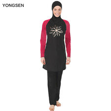 Women Muslim Swimwear Islamic Swimsuits Covered Swimsuits Burkini Beach Wear
