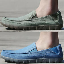 Fashion Sneakers Men's Slip-On Loafers tennis travel Leisure non slip boat Shoes