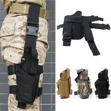 Waterproof Adjustable Drop Puttee Leg Thigh Holster Pouch Holder For Pistol/Gun