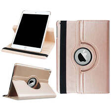 360 Rotating Flip Stand Smart Leather Case Cover For iPad 5th Gen Mini Air Pro