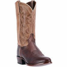 Dan Post Mens Brown Greer 12in Leather Cowboy Boots