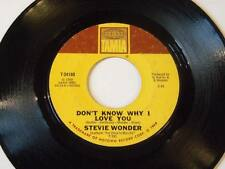 """Stevie Wonder - My Cherie Amour / I Don't Know Why Vinyl 7"""" 45 - Tamla - T-54180"""