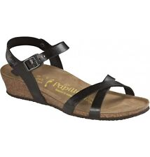 Papillio by Birkenstock ALYSSA BF $159rrp Graceful Licorice Black BNIB 409183