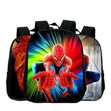 3D Printed Cartoon Spiderman Backpack Child Boy Backpack Kindergarten School Bag