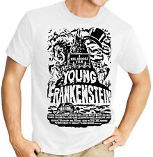 Mel Brooks Young Frankenstein Special Edition Movie Mens White T Shirt
