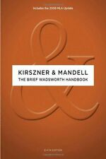 LAURIE G. KIRSZNER, STEPHEN R. MANDELL - The Brief Wadsworth ** Brand New **