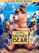 Disney Brother Bear (DVD, 2004, 2-Disc Set, Special Edition) w/inserts looks new