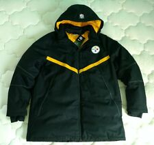 NWT Nike NFL Pittsburgh Steelers On Field Hoodie Down Parka Jacket $400 NWT!!