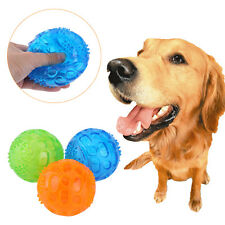 Classic Non-Toxic Pet Dog Puppy Ball Tough Chew Play Fetch Balls Toy 3 Color CL