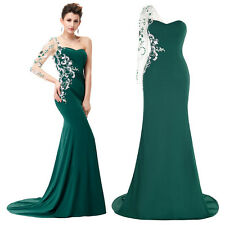 Floor Length Prom Bridesmaid Dress Party Cocktail Formal Evening Gown Mermaid