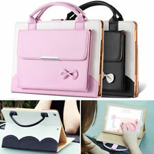 Carrying Handbag Leather Stand Case Cover  For Apple iPad 234 Mini Air Pro