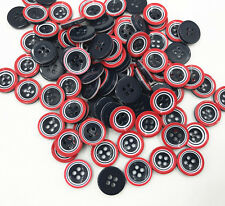 4-holes Round Resin Buttons decoration Handicrafts Sewing clothes 13mm